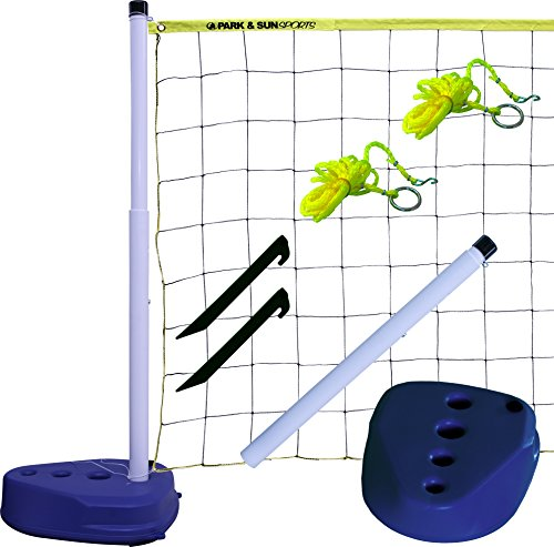 (Park & Sun Sports Portable Indoor/Outdoor Swimming Pool Volleyball Net System)