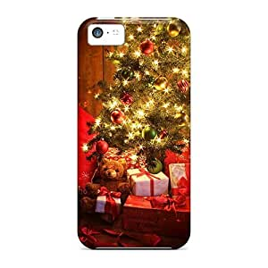 Special GAwilliam Skin Case Cover For Iphone 5c, Popular Amazing Christmas Tree Phone Case