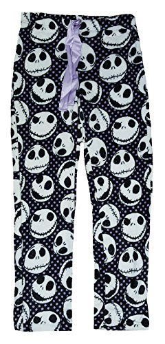 Jack Skellington Super Soft Minky Sleep Pants (Nightmare Before Christmas Jack Skeleton)