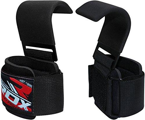 RDX Zughilfen Klimmzughaken Gewichtheben Krafttraining Lastzughilfe Handgelenkstutze