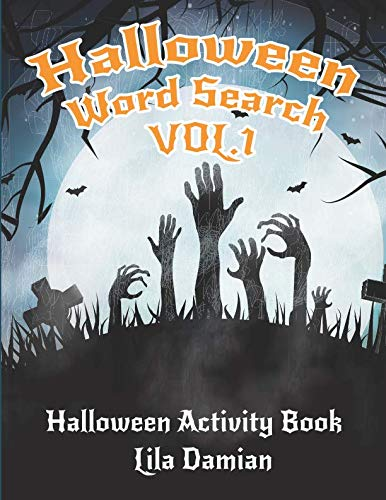 Halloween Word Search VOL.1: Halloween Activity Book (Halloween Books For Children) -