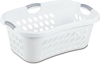 6-Pack Sterilite 12108006 Ultra Hip Hold Laundry Basket