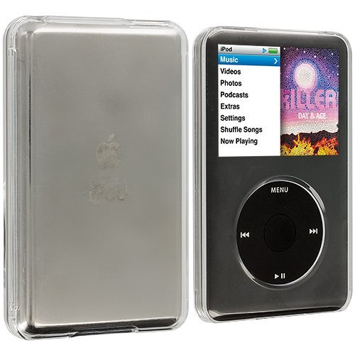 Clear Hard Transparent Crystal Case Cover for Apple iPod Classic