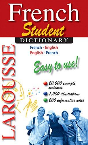 Larousse Student Dictionary French-English/English-French (French and English Edition) (Dictionary English Pocket French)