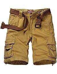 Mens Cargo Shorts   Amazon.com