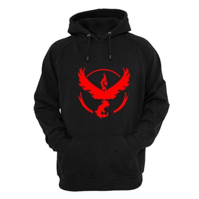 8086 – Pokemon Go gimnasio Equipo Mystic Valor Instinct Sweatshirt Hoodies b44171225645