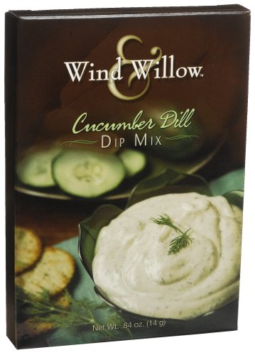 Cucumber Doeuvres Hors (Wind & Willow Cucumber Dill Dip, .84-Ounce Boxes (Pack of 6))