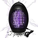 GODV-MX 2019 Upgraded Bug Zapper with UV Light, Indoor Outdoor Electronic Insect Killer, Mosquito Trap, Fly Pests Catcher Lamp