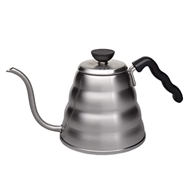 Hario V60 Buono Stainless Steel Gooseneck Coffee Kettle, Stovetop (1.2L/ 1200 mL)
