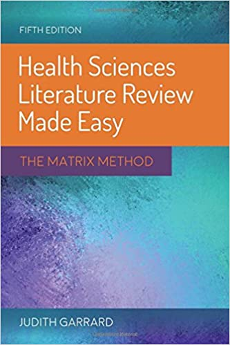 Literature review matrix nursing
