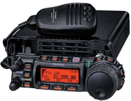 Yaesu FT-857D Amateur Radio Transceiver - HF, VHF, UHF All-Mode 100W Remote Head Capability by Yaesu