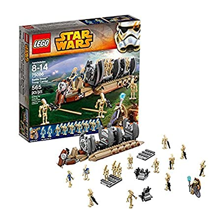 Amazoncom Lego Star Wars 75086 Battle Droid Troop Carrier Toys