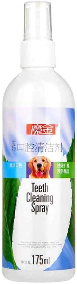 JYJM Spray Oral Care Natural para Mascotas Salud Dental para ...