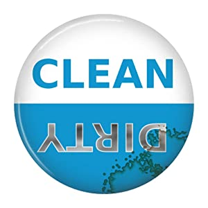 Clean Dirty Dishwasher Magnet Sign Indicator