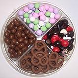 Scott's Cakes 4-Pack Licorice Mix, Chocolate Pretzels, Chocolate Peanuts, & Chocolate Dutch Mints