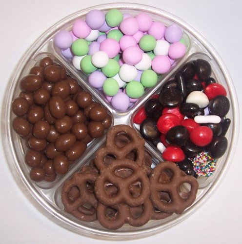 Scott's Cakes 4-Pack Licorice Mix, Chocolate Pretzels, Chocolate Peanuts, & Chocolate Dutch Mints by Scott's Cakes