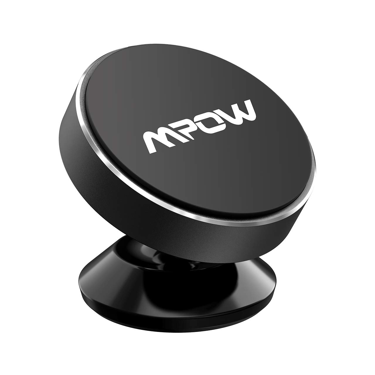 Dashboard Car Mount, Mpow Mini Magnetic Car Phone Mount, Stylish Metal Phone Holder for iPhone Xs/XS MAX/X/8/8 Plus, Samsung Galaxy S9/S8/S7, HTC One, LG, Sony Xperia, Google Nexus Pixel and Others