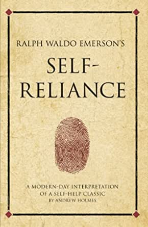 "ralph waldo emerson self reliance and other essays book Discover ralph waldo emerson quotes about children  ralph waldo emerson (2012) ""self-reliance and other essays  ralph waldo emerson (1983) ""essays."
