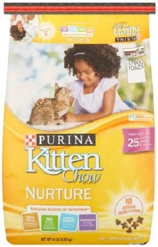 Purina Kitten Chow Nurture Cat Food 14 lb. – Pack of 3
