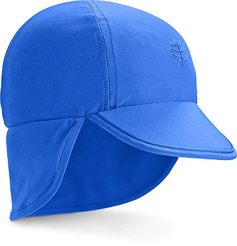 Gear For Sports Cap - Coolibar UPF 50+ Baby Splashy All Sport Hat - Sun Protective (6-12 Months- Baja Blue)