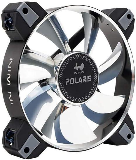 In Win Polaris RGB Metal (Twin Pack) Ventilador para PC: Amazon.es: Informática