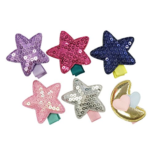 Wrapables%C2%AE Toddler Stars Ribbon Clips