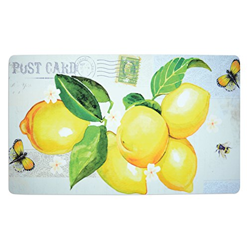 Lemons 18 x 30 Inch Soft Touch Kitchen - Gigi Goes Shopping