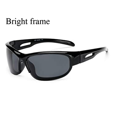 47265c476 Amazon.com: YLNJYJ Sport Polarized Sunglasses Polaroid Sun Glasses Goggles  Uv400 Sunglasses For Men Women Eyewear De Sol Feminino Uv400: Clothing