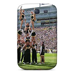 Galaxy S3 Hard Back With Bumper Silicone Gel Tpu Case Cover Green Bay Packers Cheerleaders
