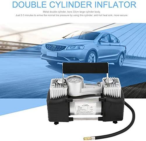 12V Car Portable Electric Air Compressor Tire Inflator Pump Heavy Duty