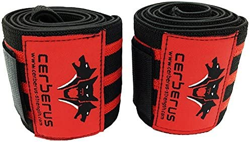 CERBERUS Strength Knee Wraps *MULTI LISTING ALL SIZES AND GRADES*