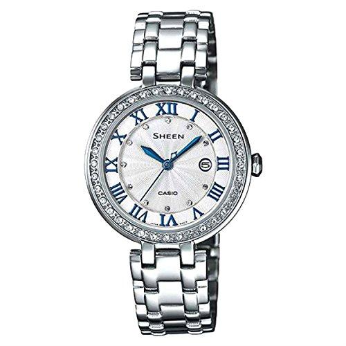Casio Women's SHE4034D-7A Sheen White Watch