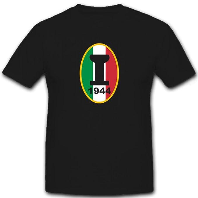 Primera Liga Fútbol Italia 1944 campionato alta Italia – Camiseta # 6724 negro Small