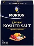 Morton Kosher Salt Box, 48 Ounce (Pack of 12)