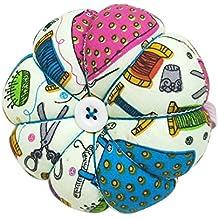 D&D Pin Cushion Wrist Pumpkin Pin Cushions Wearable Sewing Needle Pincushions for Needlework - Sewing Pattern Green