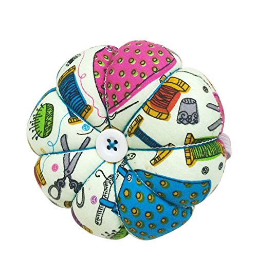D&D Pin Cushion Wrist Pumpkin Pin Cushions Wearable Sewing Needle Pincushions for Needlework - Sewing Pattern Green