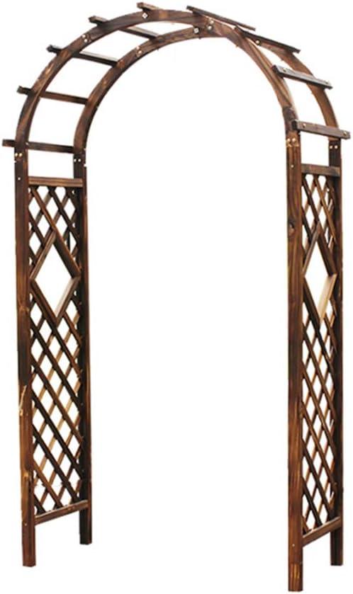 XLOO Enrejado de Madera para Arcos de jardín, Enrejado de Madera ...