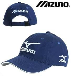 Mizuno Tour Cap 2010 Navy Blue Golf Hat Runbird New