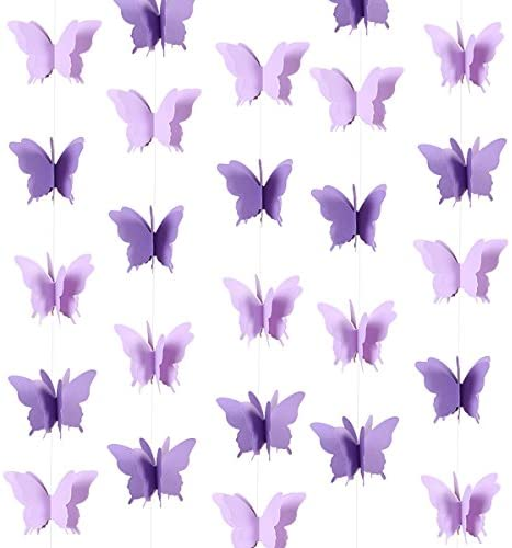 Butterfly Hanging Garland Bunting Decorations product image