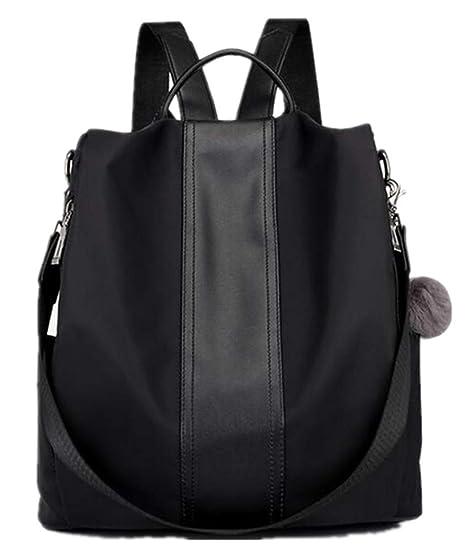 2ec76e519612 Amazon.com   gui fang Simple Casual Wild Women s Shoulder Bag Fashion  Backpack Nylon Waterproof   Sports   Outdoors