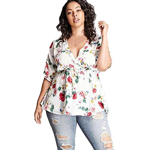 Women-Plus-Size-Blouse-Teresamoon-Ladies-V-Neck-Loose-Floral-Vest-Shirt