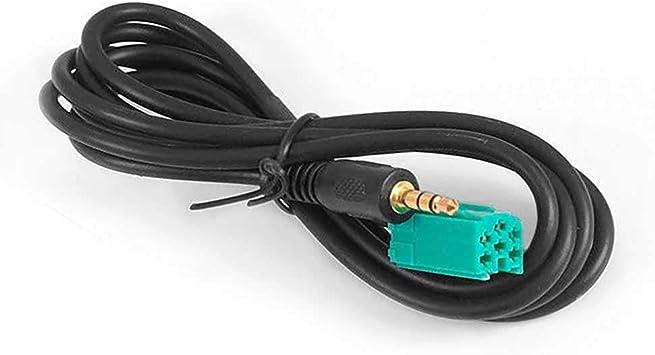Ociodual Klinkenstecker Aux Adapter Kabel Für Renault Clio Megane Update List Radio Werkzeuge Line In 6