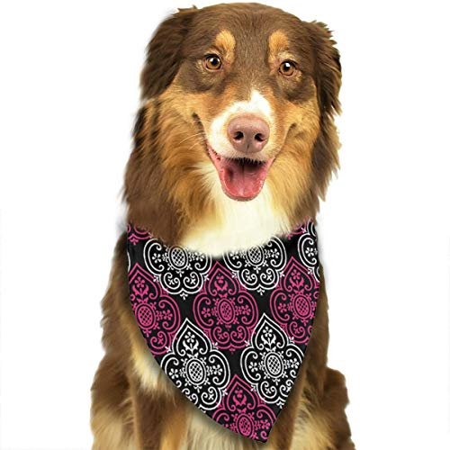 FRTSFLEE Dog Bandana Lace Medallion Courtesan Scarves Accessories Decoration for Pet Cats and Puppies]()