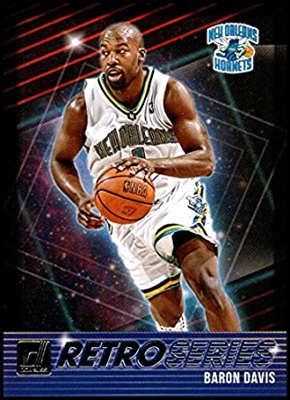 Amazon.com  2018-19 Donruss Retro Series  1 Baron Davis NM-MT New Orleans  Hornets  Collectibles   Fine Art 01917a89d