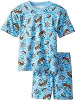 Sara's Prints Boys' Short Pajamas