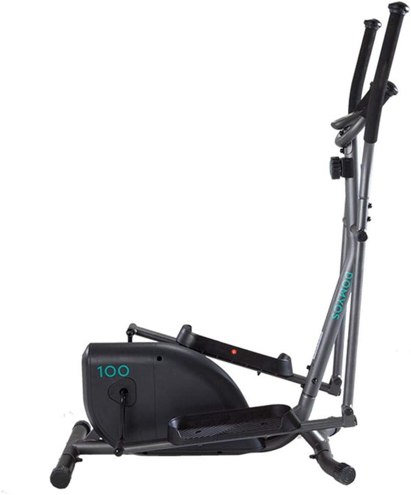 Elípticas Máquina Ejercicios máquina de Adelgazamiento con Control magnético para el hogar Equipo de Ejercicios para el Interior y silencioso ellipsómetro para Caminar por el Espacio Equip: Amazon.es: Hogar