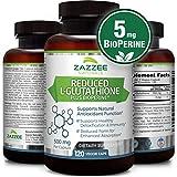 Best L Glutathiones - Reduced L-Glutathione | 500 mg per Capsule | Review