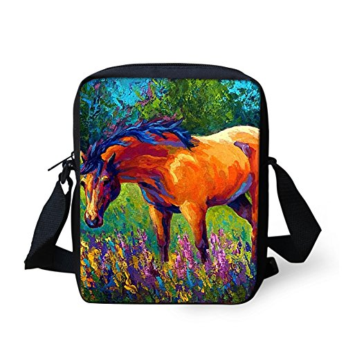 HUGS Printed Purse IDEA for Coin Girl Women Sling Bags Cross Funny Bosy Horse Mini Mini Bag Horse2 Shoulder UgUwrS