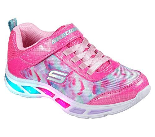 Litebeams-Dance N'Glow Sneaker,neon pink/multi,11 Medium US Little Kid ()