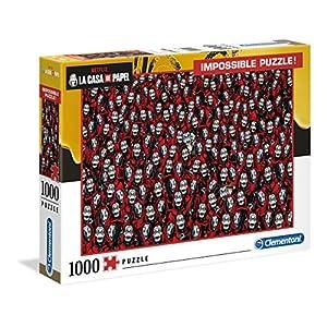 Clementoni 39527 Impossible Puzzle La Casa Di Carta 1000 Pezzi Made In Italy Puzzle Adulti Netflix